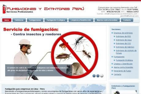 Fumigaciones y Extintores Perú