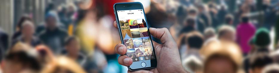 la multicuenta de Instagram